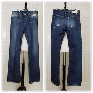 Loomstate Destructed Mantra Jeans - Size 33